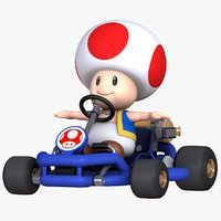 Mario Kart Tour - Toad Pipe Frame model
