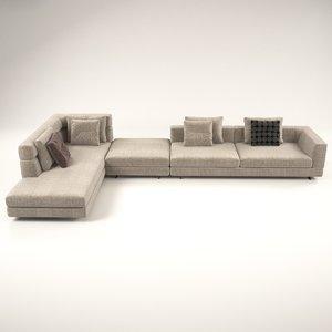 terra sofa design 3D model