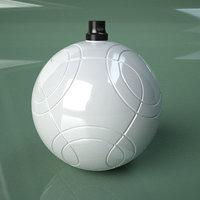 3D Printable Soccer Cafu Ball Ornament model