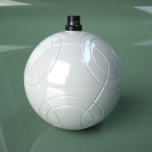 printable soccer ball cafu 3D