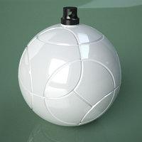 3D Printable Soccer Jabba Ball Ornament model
