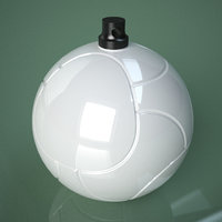 printable soccer ball palle 3D