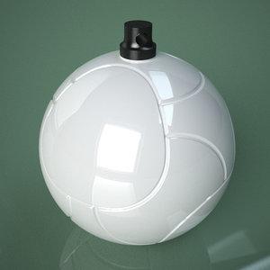 printable soccer ball palle 3D