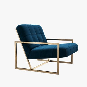 jonathan goldfinger lounge chair 3D