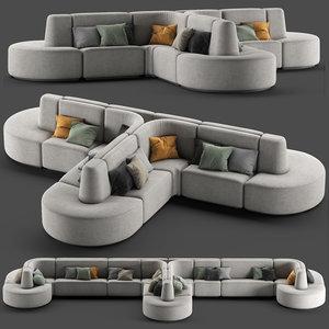 hmd interiors bistro sofa2 model
