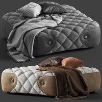daytona wimbeledon pouffe 3D model