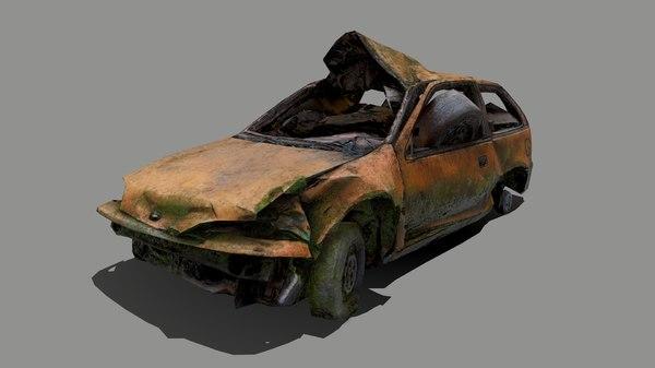 car moss 3D