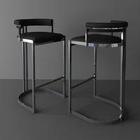 bar stool dante EICHHOLTZ