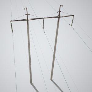 power line ussr 3D