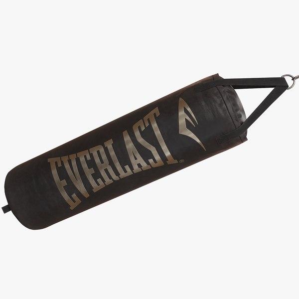 punching bag everlast 3D model