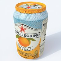 softdrink san pellegrino 3D model