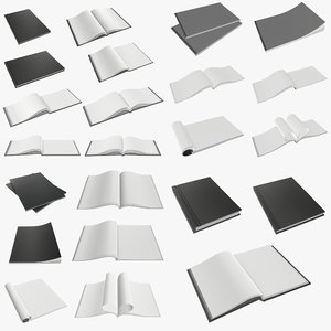 3D album notebook book