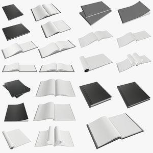 3D album notebook book