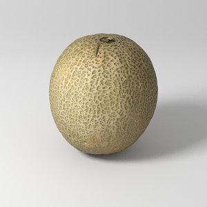 3D melon