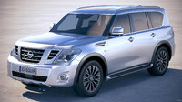 Nissan Patrol Y62 2019