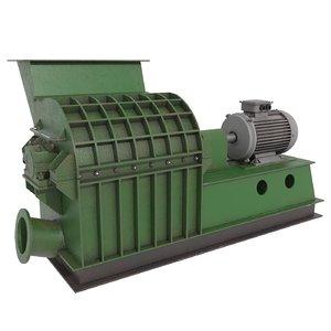 wood crusher grinder model