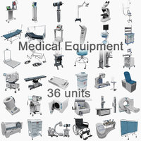 Medical Equipment Collection 36 in 1