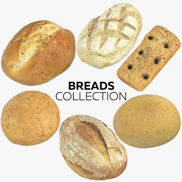 breads 3D