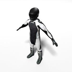 biker games 3D model
