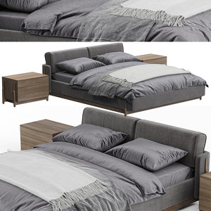 ash bed zegen 3D model