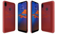 Motorola Moto E6 Plus Bright Cherry