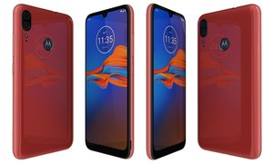 3D motorola moto e6 bright model