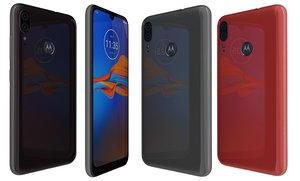 motorola moto e6 colors 3D model