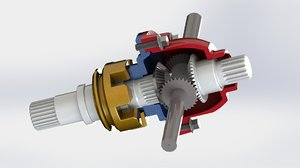 differential gear 3D model