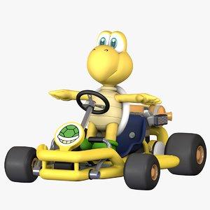 3D mario kart tour - model