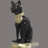 3D egyptian cat