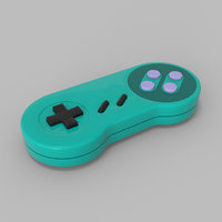 controller console 3D model