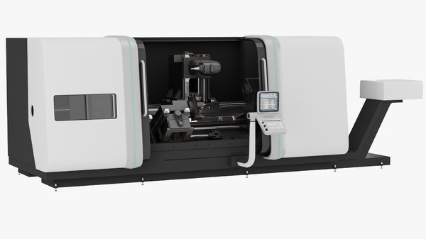3d model lathe ctx gamma 2000