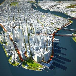 newyork city 3 new york 3D