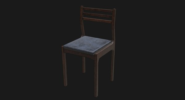 chair games animations 3D model