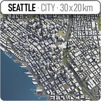 Seattle - full city extents
