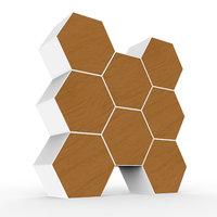 3D honeycomb chest