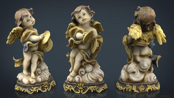 angel 11 3D model
