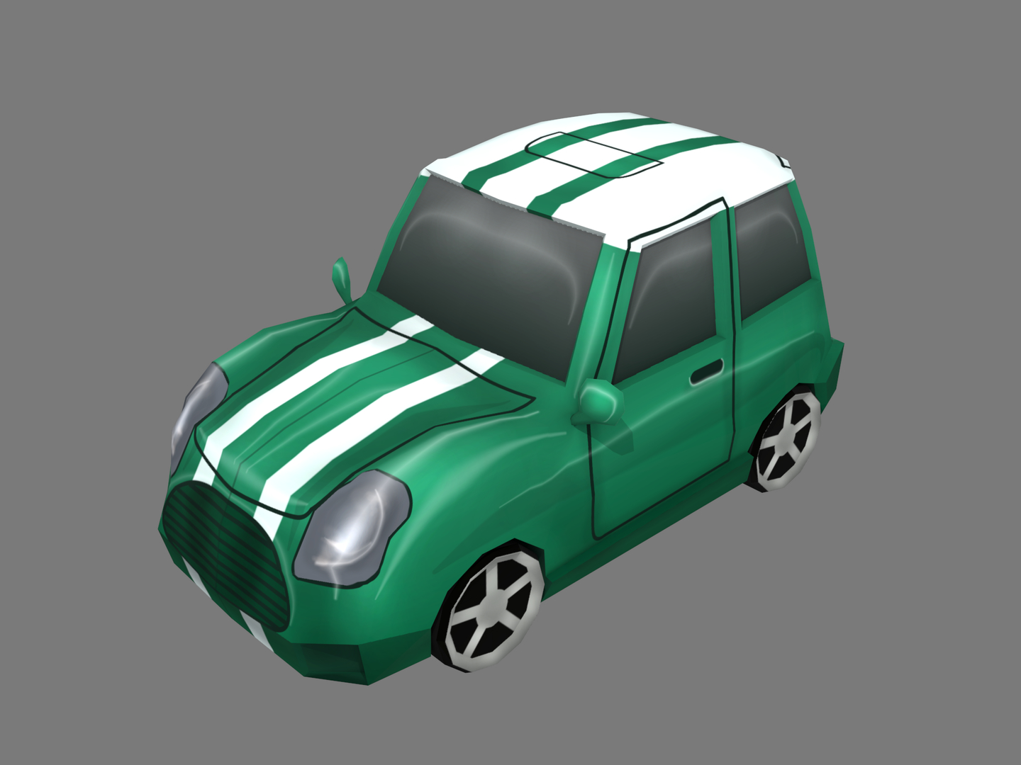cartoon car model
