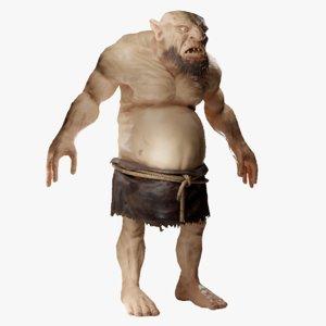ogre creatures 3D model