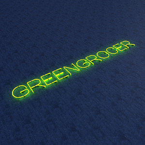 greengrocer neon sign 3D model