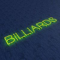 3D model bllards neon sign