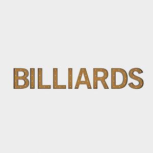 bllard sign bulb 3D model
