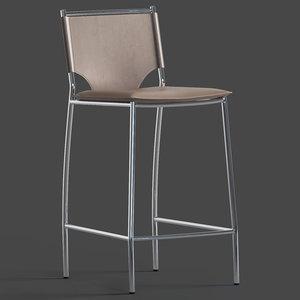 montcalre stool 3D