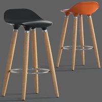 3D adoni abs plastic stool