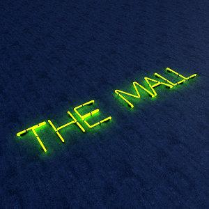 mall neon sign model