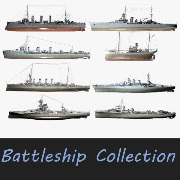 destroyer hms iron 3D model