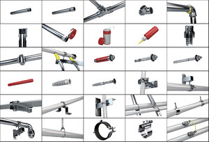 selection construction pipe fittings model