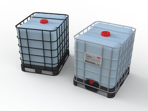 3D model ibc tank container