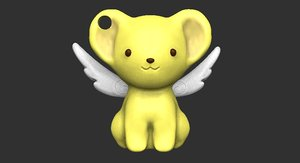 kero sakura card captors 3D model