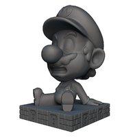 mario bobble head 3D model
